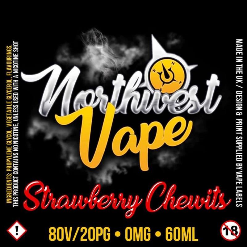 Strawberry Chewits Shake & Vape 50ml 70VG