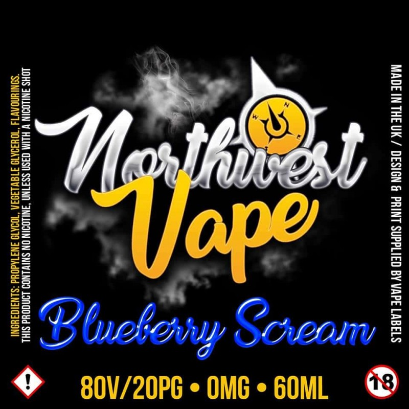 Blueberry scream Shake & Vape 60ml