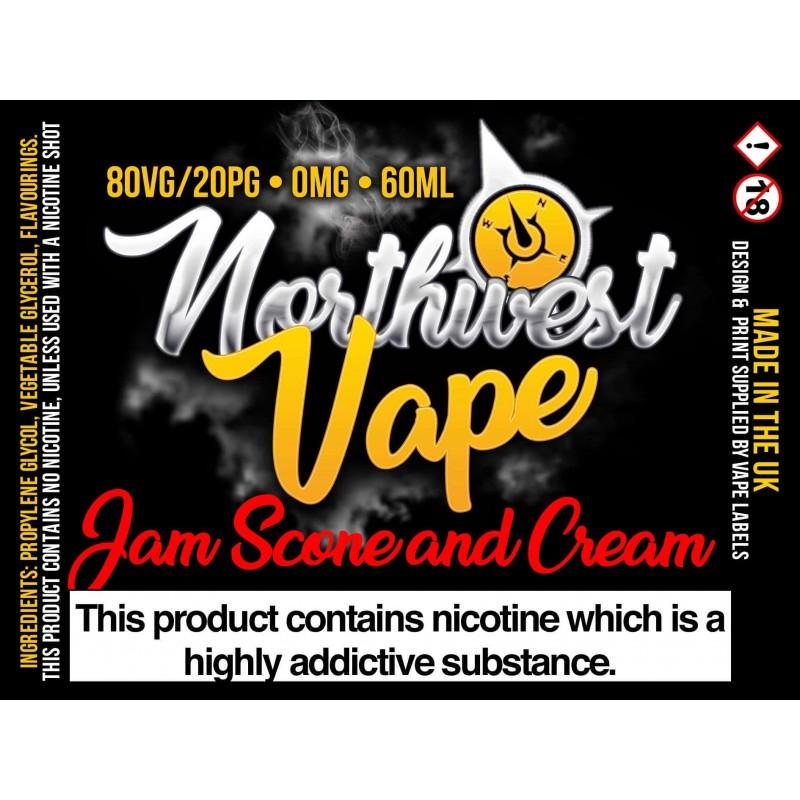 Jam Scone and Cream  Shake & Vape 60ml