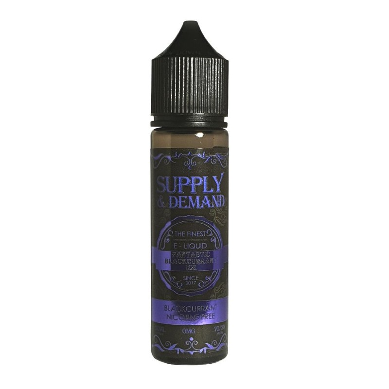 Supply & Demand Blackcurrant Ice 50ml 70VG