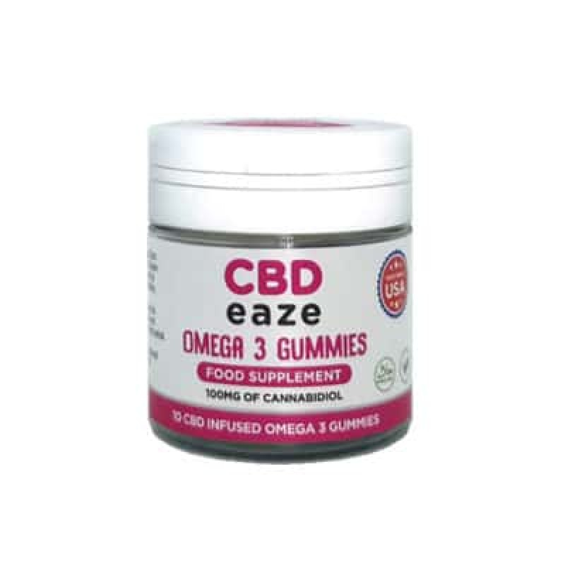 CBD Gummies Omega 3 100mg