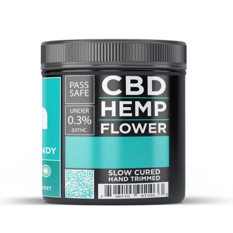 CBD Hemp Flower - Sour Space Candy (16.01% CBD)