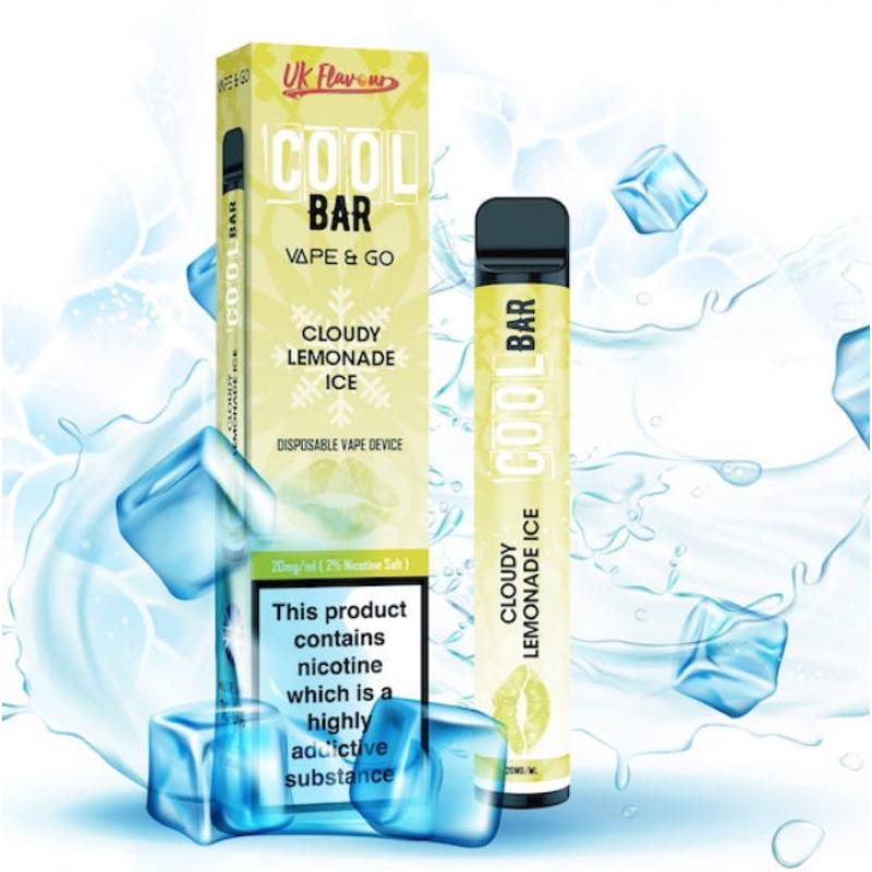 Cloudy Lemonade Ice Cool Bar Disposable Vape
