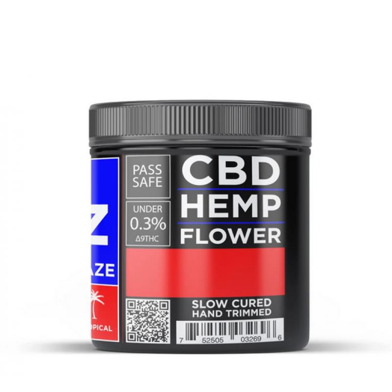 CBD Hemp Flower - Hawaiian Haze (13.36% CBD)