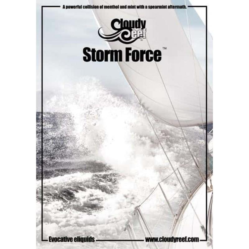 Cloudy Reef Storm Force E-Liquid 10ml 50VG
