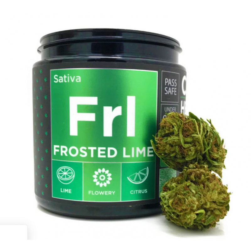 CBD Hemp Flower - Frosted Lime (17.70% CBD)
