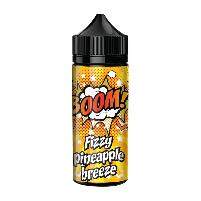 Fizzy Pineapple Breeze – BOOM! 80vg/20pg
