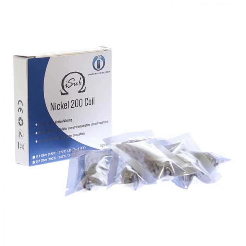 Innokin ISub NI200 Coil 5 Pack