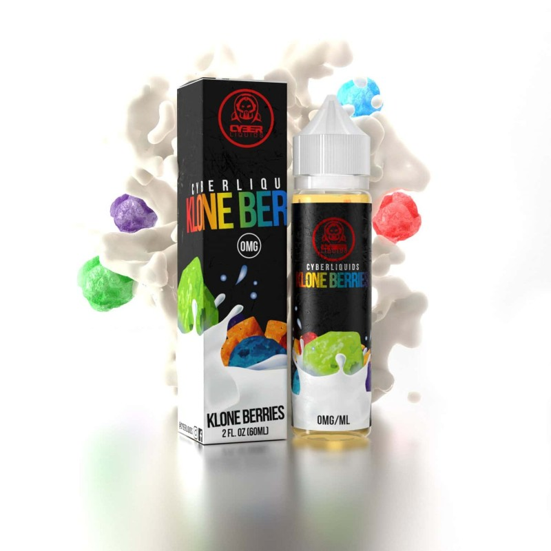 Cyberliquids Klone Berries E-Liquid – 50ml Shortfill 70VG