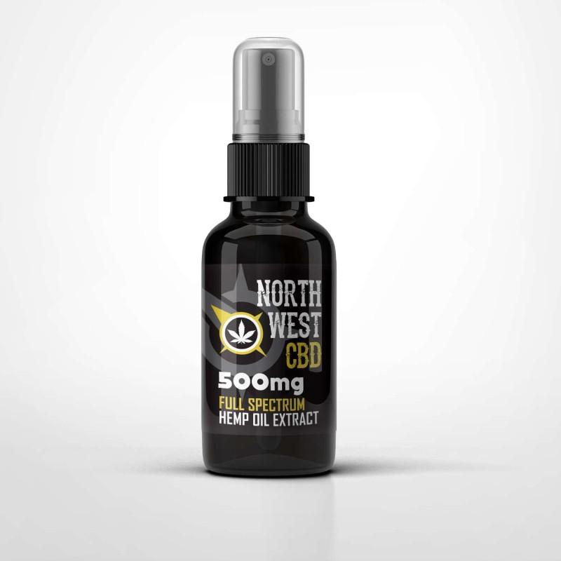 Cannabis CBD Oil - 5% (500mg) Full Spectrum Spray