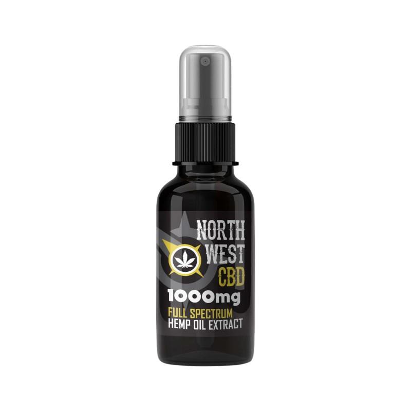Cannabis CBD Oil - 10% (1000mg ) Full Spectrum Spray