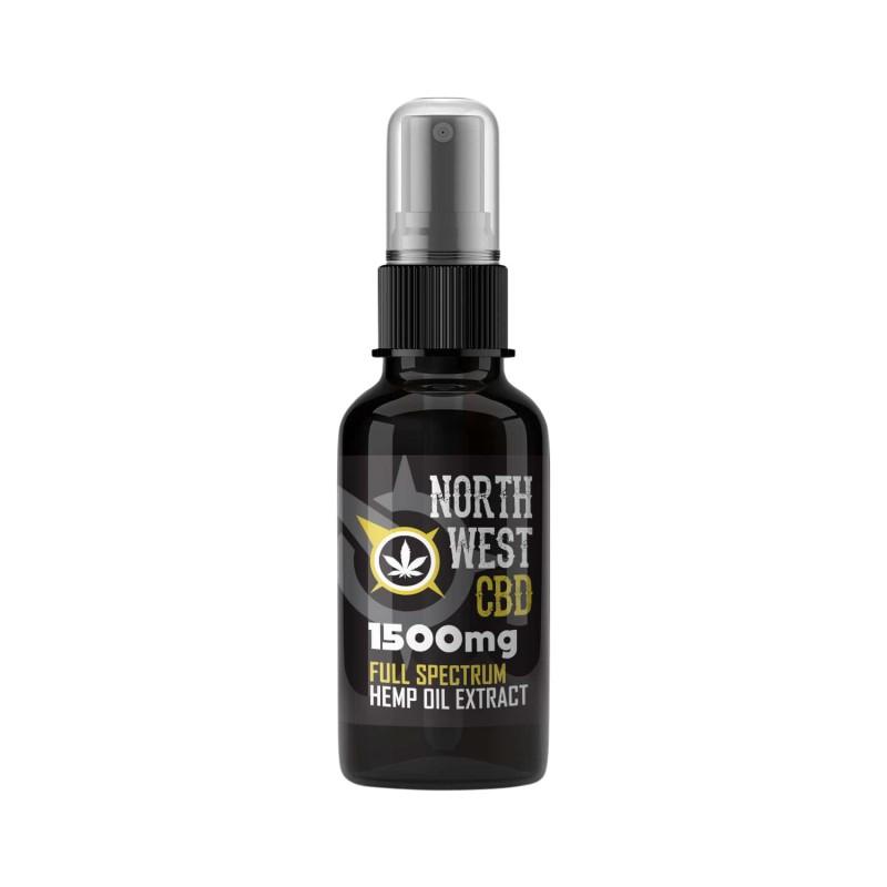 Cannabis CBD Oil - 15% (1500mg ) Full Spectrum Spray