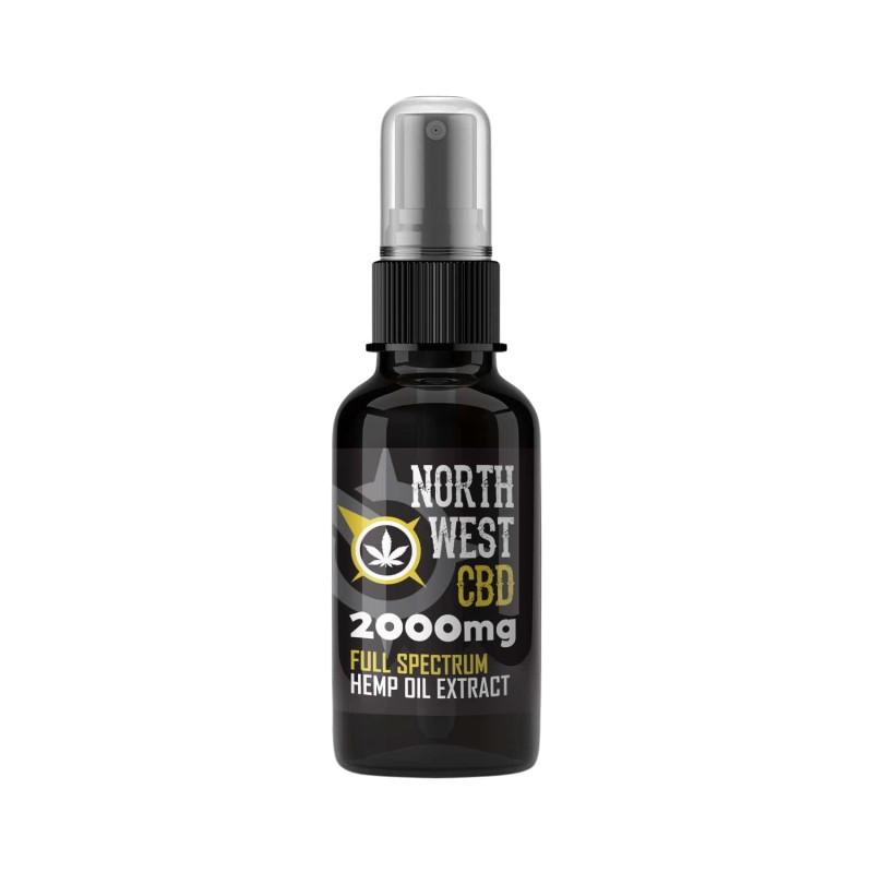 Cannabis CBD Oil - 20% (2000mg ) Full Spectrum Spray