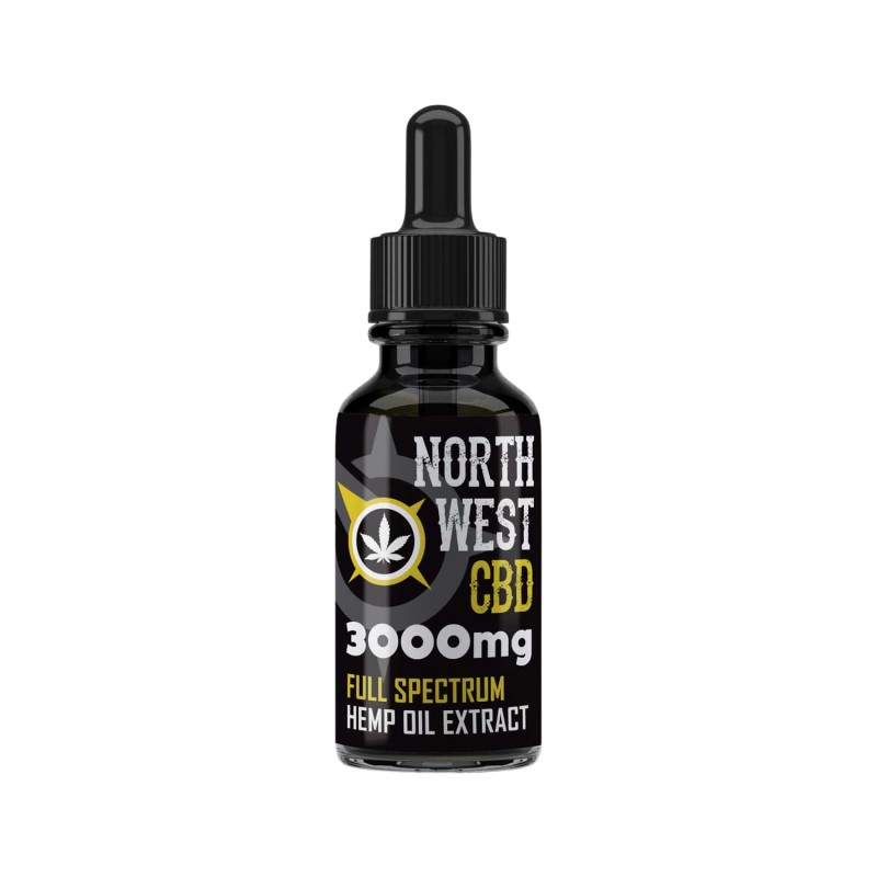 Full Spectrum Cannabis CBD Oil - 30% (3000mg)