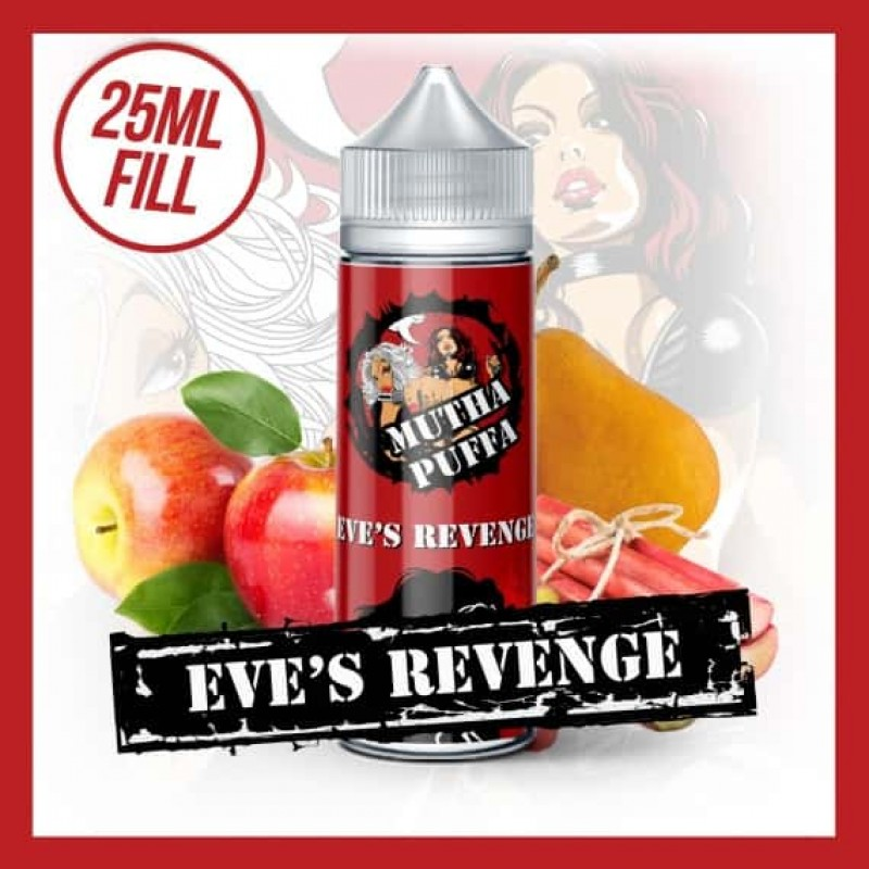Eve's Revenge - 25ml Short Fill 70VG