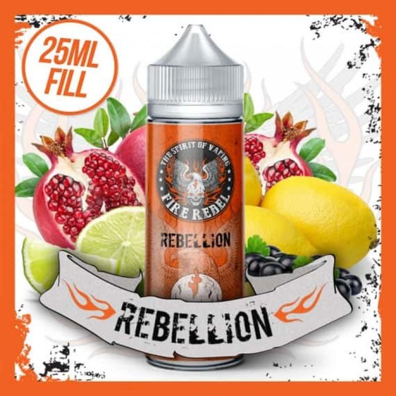 Rebellion - 25ml Short Fill 70VG