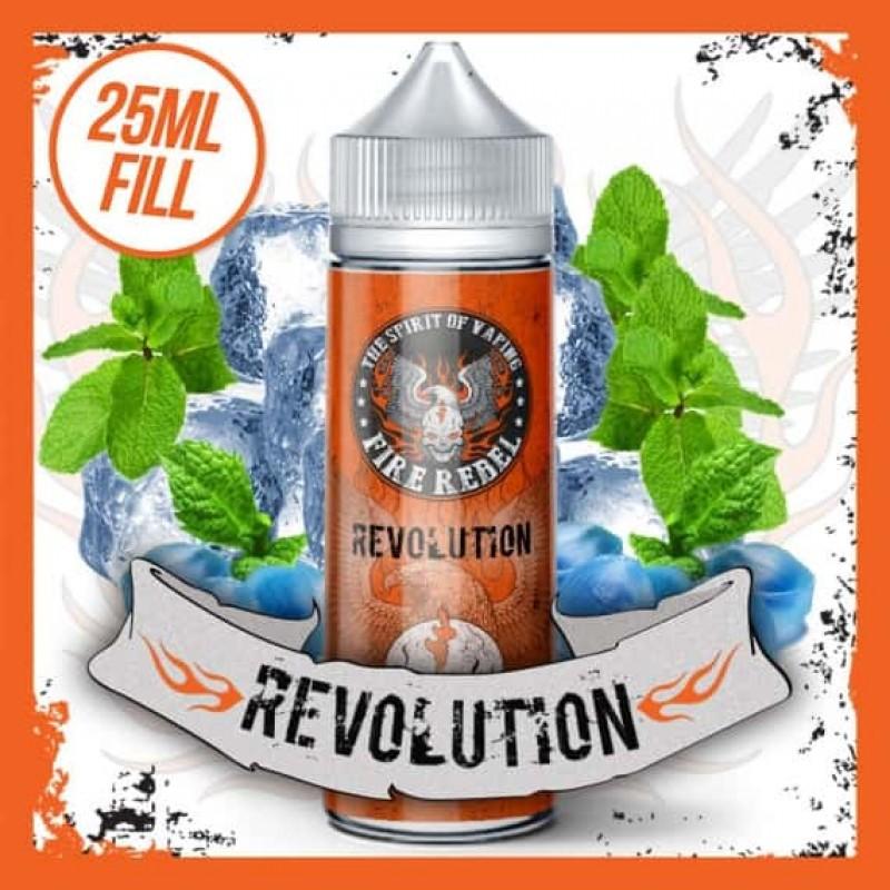 Revolution - 25ml Short Fill 70VG