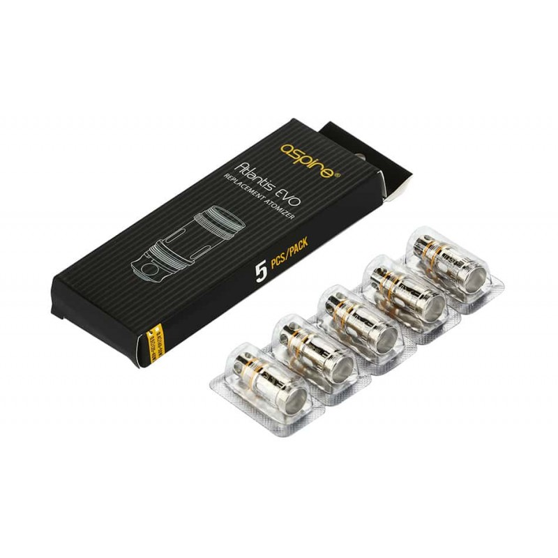 Aspire Atlantis EVO Replacement Coils (5 Pack)