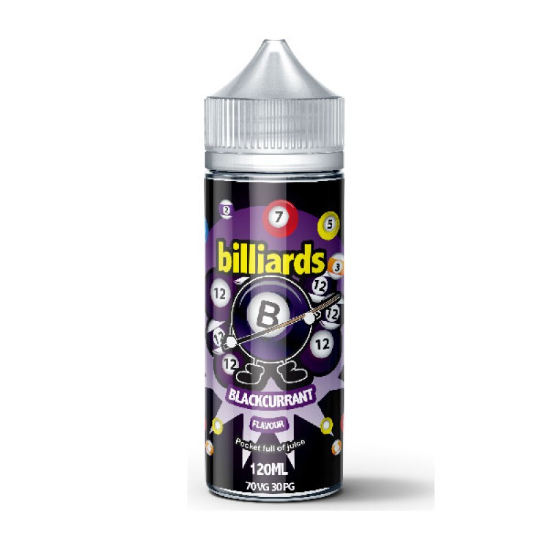 Billiards Blackcurrant 100ml 70VG