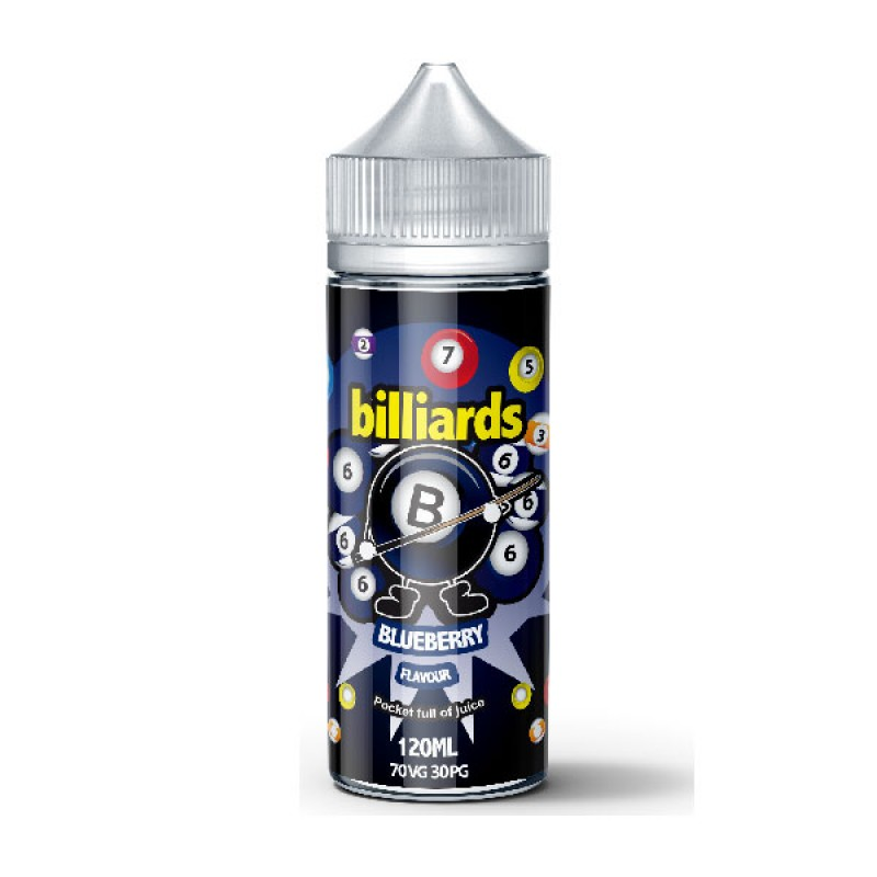 Billiards Blueberry 120ml 70VG
