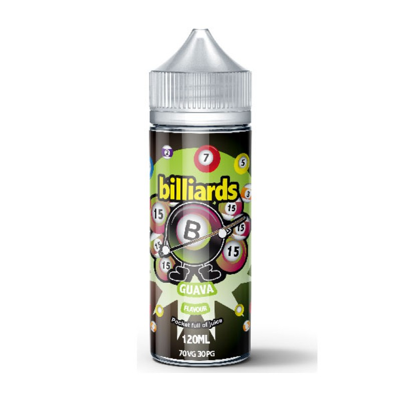 Billiards Guava 120ml 70VG