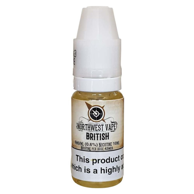 British Tobacco Eliquid 10ml 50VG