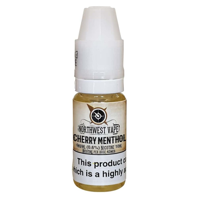 Cherry Menthol Eliquid 10ml 50VG