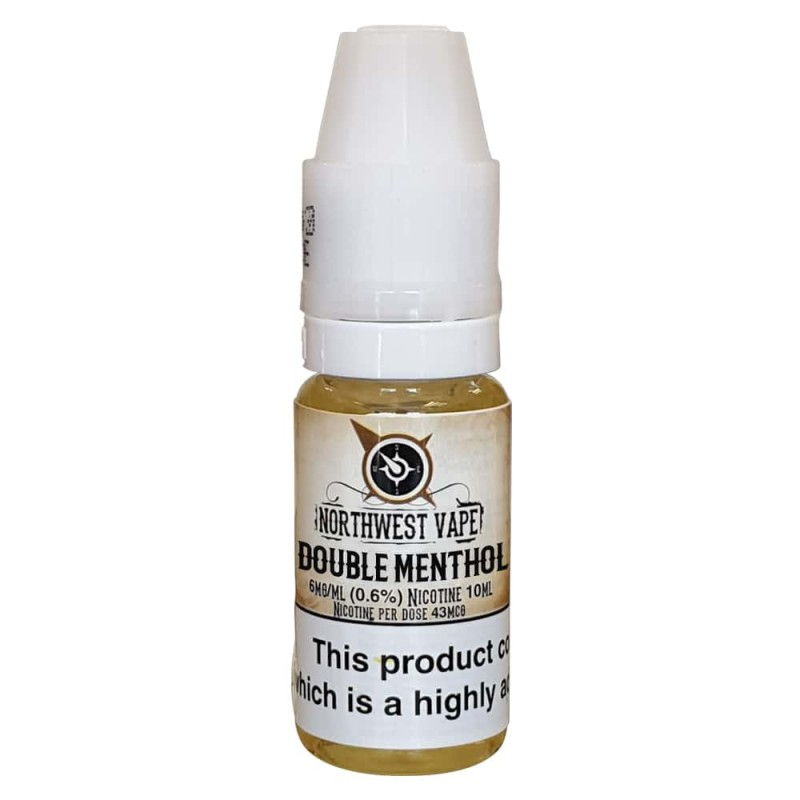 Double Menthol  Eliquid 10ml 50VG