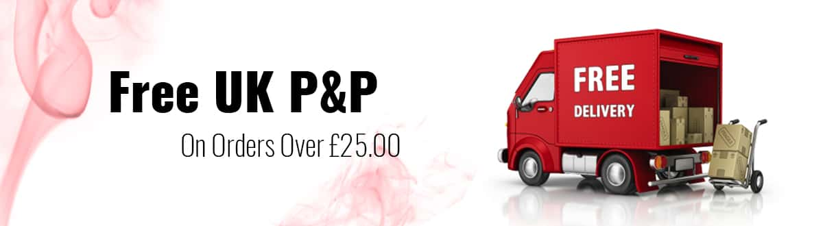 Free Delivery Over £25.00