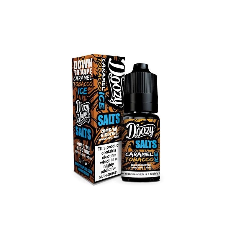 Doozy Vape - Nic Salt - Caramel Tobacco Ice [20mg]