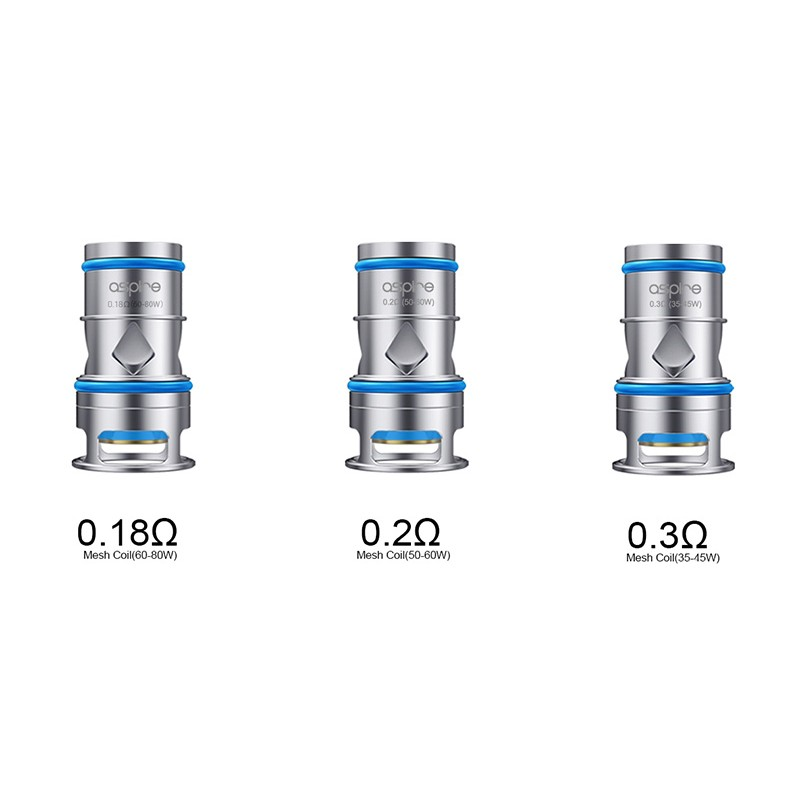 Aspire ODAN Coils - 3 Pack [Mesh 0.18ohm]