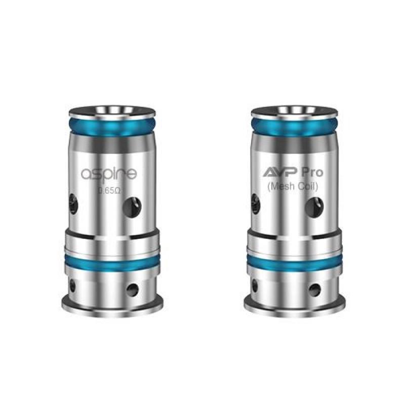 Aspire AVP Pro Coils - 5 Pack [0.65ohm Mesh]