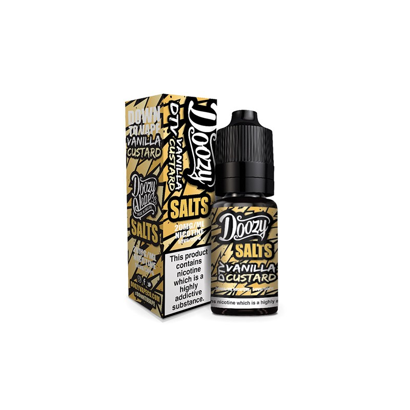 Doozy Vape - Nic Salt - Vanilla Custard [20mg]