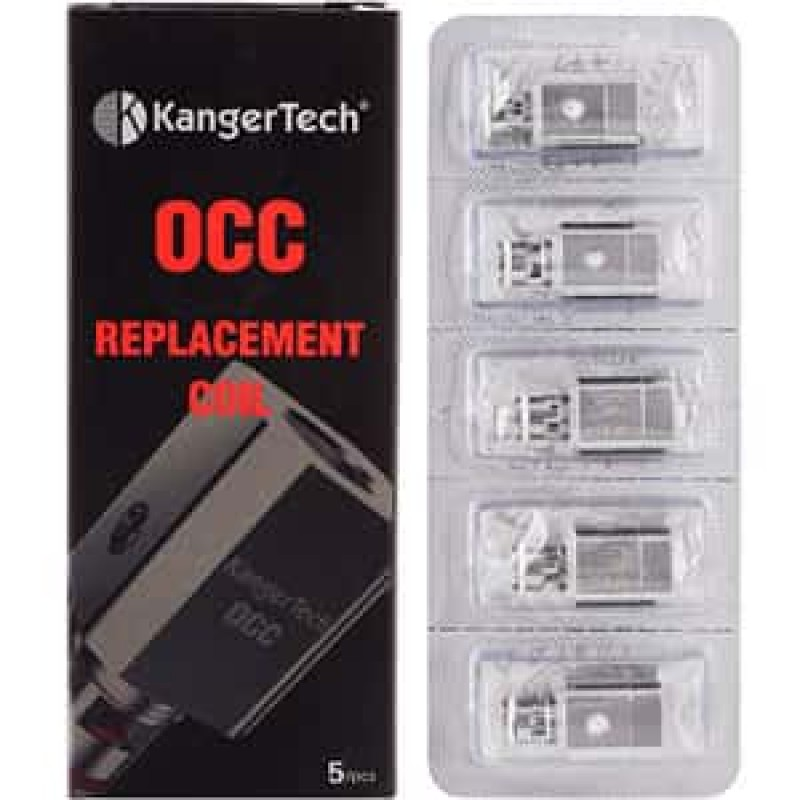Kangertech Subtank Vertical OCC Replacement Coils (Pack of 5)