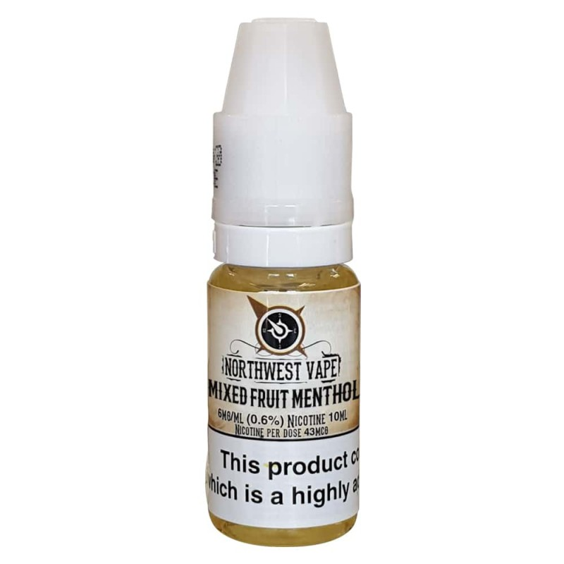 Mixed Fruit Menthol E-liquid 10ml 70VG
