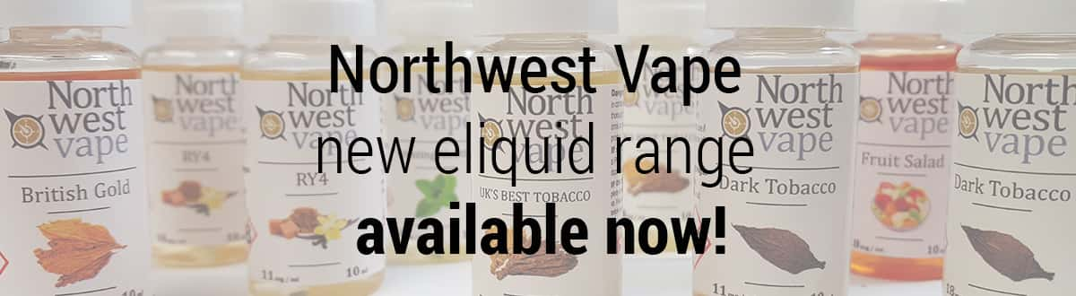 Northwest Vape E-Liquid Range