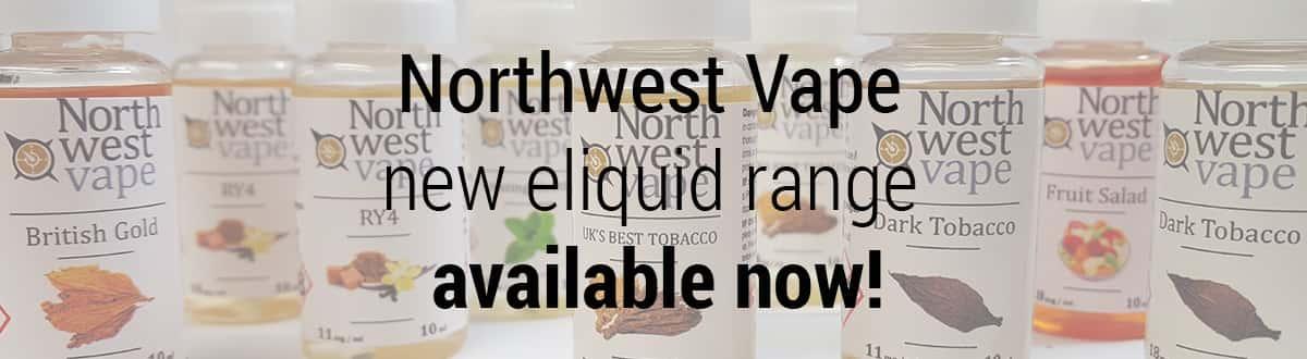 Northwest Vape E-Liquid Range