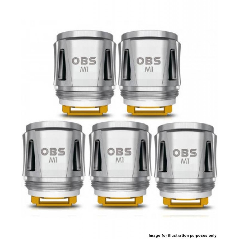 OBS Cube M1 0.2ohm Mesh Coils 5 Pack