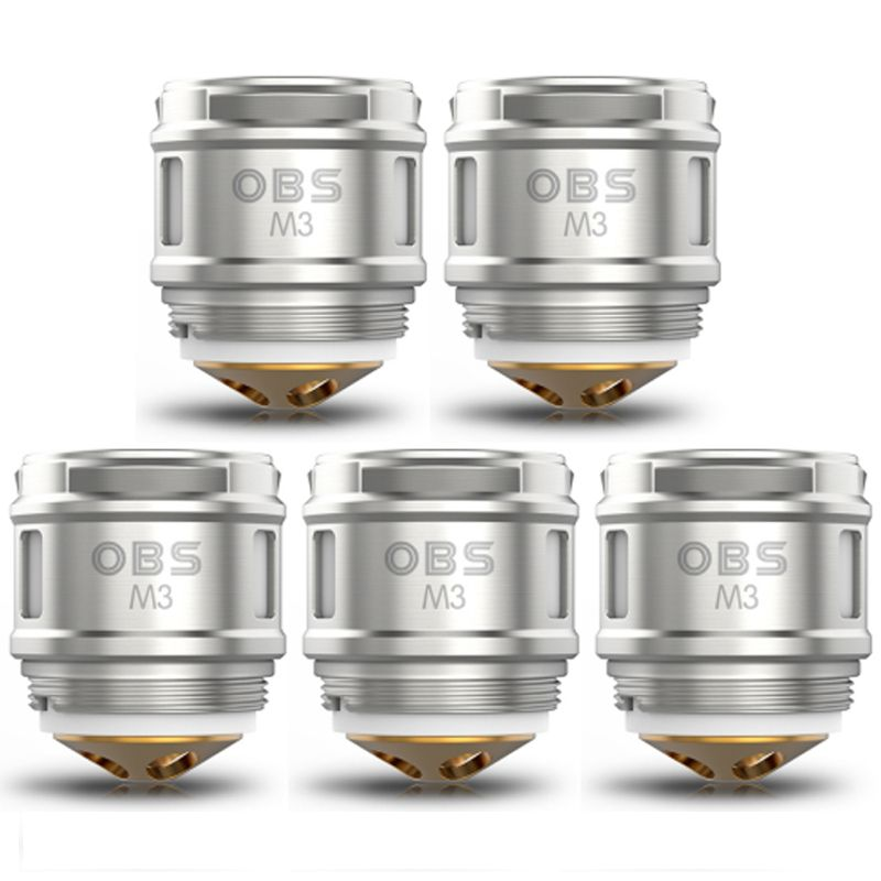 OBS Cube M3 0.15ohm Mesh Coils 5 Pack