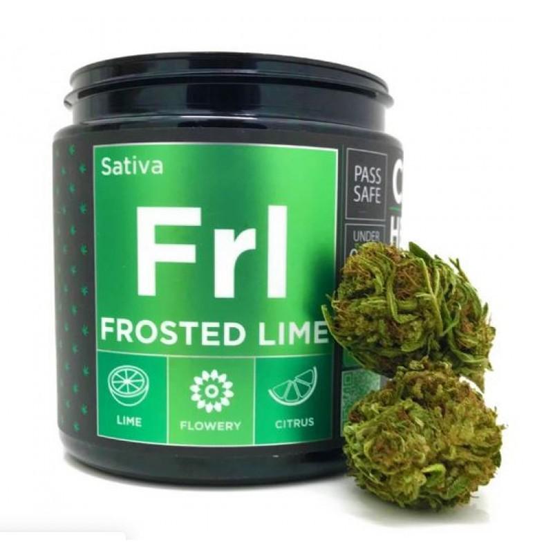 CBD Hemp Flower - Frosted Lime (17.70% CBD)