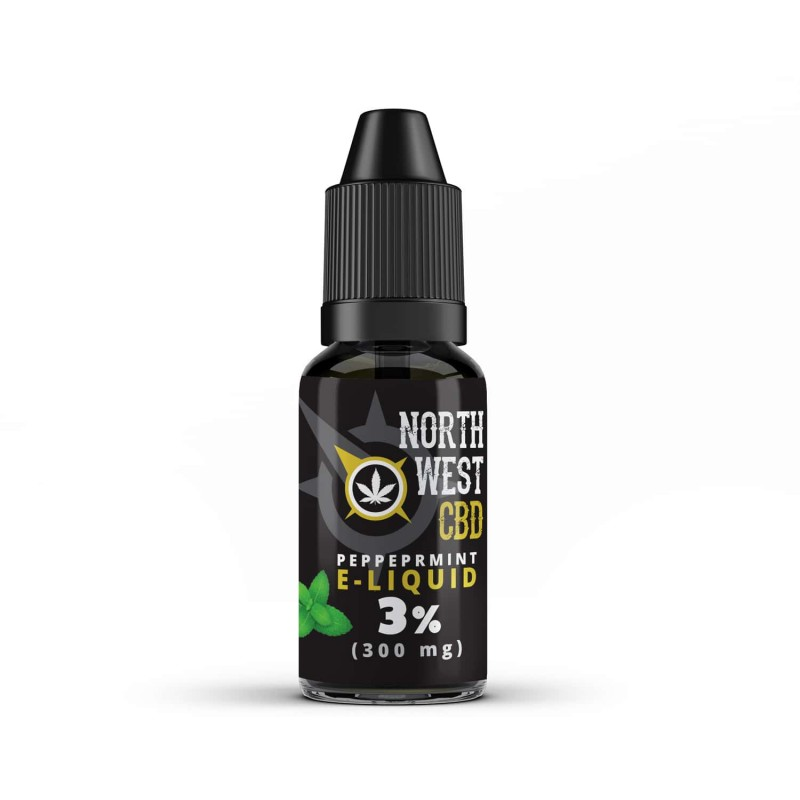 CBD E-Liquid - Full Spectrum Peppermint 100mg