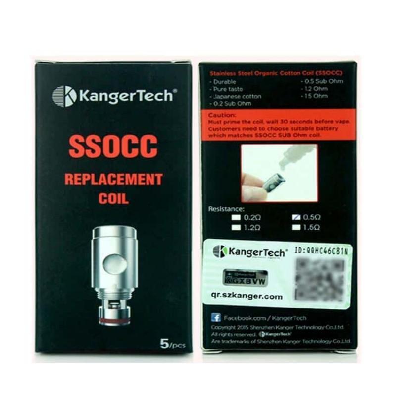 Kangertech SSOCC Coil Heads 5 Pack