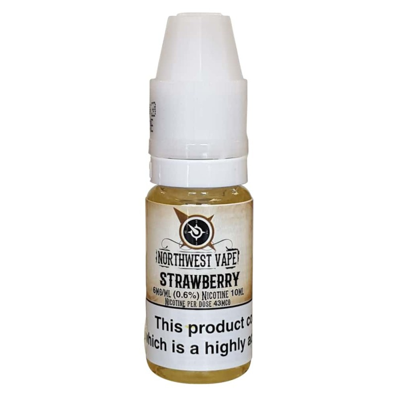 Strawberry E-liquid 10ml 70VG