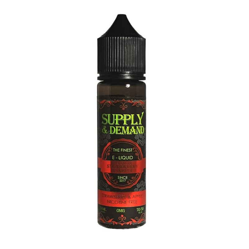Supply & Demand Strawberry & Apple Ice 50ml 70VG