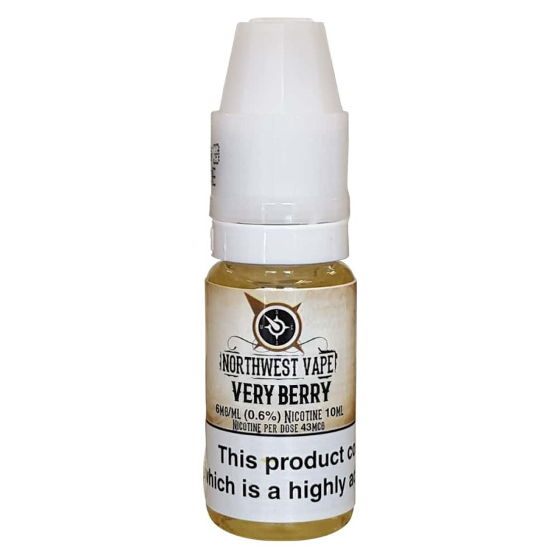 Very Berry E-liquid 10ml 50VG